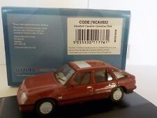 Vauxhall Cavalier - Carnelian Red  1:76 Oxford Diecast Model Car British
