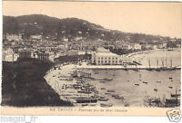 06 - cpa - CANNES - Panorama pris du Mont Chevalier ( i 3547)