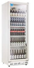 AG Gastro Flaschenkühlschrank Glastür 360 Liter 620x635x1732mm weiß