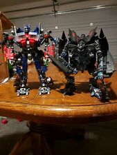 CUSTOM PAINTED Optimus Prime & Jetfire Transformers Revenge Of The Fallen Leader