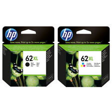 Genuine HP 62XL Black (C2P05AE) & Colour (C2P07AE) ink cartridges 62xl combo