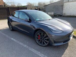 Tesla Model 3 performance TVA RÉCUPÉRABLE