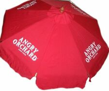 ANGRY ORCHARD CIDER  9 foot BEER UMBRELLA MARKET PATIO STYLE NEW HUGE SAM ADAMS