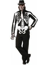 "Mens Bone Collection Skeleton Emo Punk Formal Blazer Jacket XL 50"""