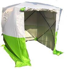 Arbeitszelt grün/ Weiß, Montagezelt, Pop Up Zelt, Bauzelt, Zelt grün/ weiß