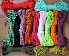 550 Paracord Survival Rope 7 Inner Strands Hiking Camping Bushcraft Bracelet