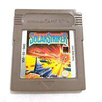 Solar Striker ORIGINAL NINTENDO Gameboy Cartridge Only - TESTED Working!