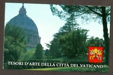 Vatican City 1993 Booklet Architecture in Vatican and Rome, Sc #917-20a MNH