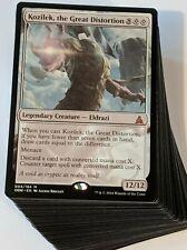 ***Custom Commander Deck*** Kozilek the Great Distortion, Eldrazi EDH Magic Card