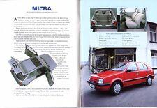 NISSAN 1990 UK Mercato Opuscolo Micra Sunny Bluebird 200SX MAXIMA 300ZX PATROL