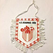 AS Beauvaisn Oise fanion vintage football foot pennant wimpel banderin