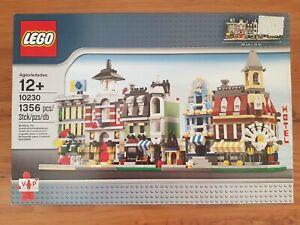 LEGO® 10230 Mini Modular Gebäude Cafe Corner Feuerwache Kaufhaus Market Street
