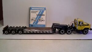 International Harvester S Series High Detail  Lowboy by First Gear 1:25  scale
