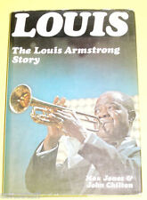 The Louis Armstrong Story 1971 Biography Great Pictures! First ED Nice See!