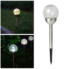 4PK Solar LED Garden Lights Post Patio Path Outdoor Lighting Colour Changing
