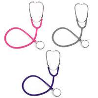 Pro doppio testa stetoscopio EMT per medico infermiera veterinaria Studente X4M9