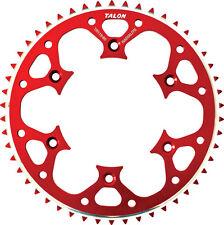 TALON GROOVELITE REAR SPROCKET 49T (RED) Fits: Honda CR500R,CRF450R,CRF250R,CRF2