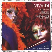 Fabio Biondi, A. Viv - Four Seasons (Manchester Version) [New CD]