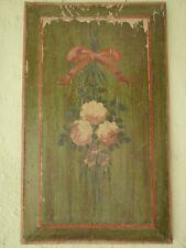 sehr seltene schöne Gemälde Tafel 1780 Original Empire Wohnkunst EB