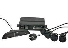 PDC Premium Sensori di parcheggio con Display & Ton, 4 in nero retromarcia