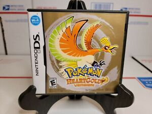 Nintendo DS Pokemon HeartGold Version complete 💯AUTHENTIC and tested😃👍
