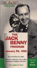 THE JACK BENNY PROGRAM-TV SERIES-JANUARY 26, 1958-HONEYMOONERS-FACTORY SEALED!