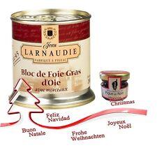 """1 french goose foie gras """"tradition"""" LARNAUDIE 200 gr bloc de foie gras d oie tr"""