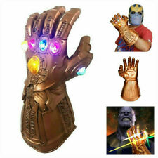 Avengers 3 Infinity War Infinity Gauntlet LED Light Thanos Gloves Cosplay new