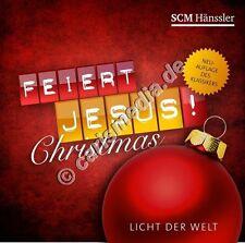 CD: FEIERT JESUS! CHRISTMAS - Licht der Welt  *NEU*