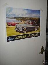 New Singer Gazelle Car Brochure Door Poster