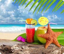 Paradise Beach Cocktail Mouse Pad
