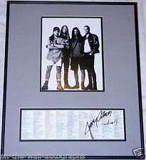 ALICE IN CHAINS HAND SIGNED AUTOGRAPHED FACELIFT INSERT! LAYNE +3 RARE PROOF+COA