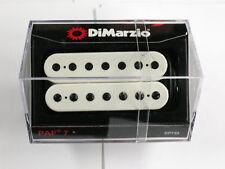 DiMarzio PAF 7 String Humbucker White W/Black Poles DP 759