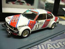 BMW e21 320 taille 2 rallye monte carlo 1980 #17 Mäkinen BMW France Neo resin 1:43