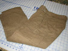 trousers battledress M1949 pattern size 01 james smith wool cargo pants military