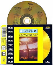LEVEL 42 - Leaving Me Now (1985) Original import UK Single CD Video VERY RARE