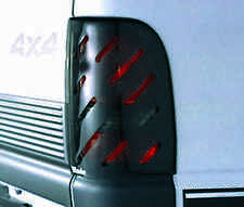 Slotted Smoke Tail Light Covers for 1987 - 1993 Ford Mustang