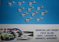 NUOVA FIAT 500 X1/9 X19 Pack - 11 Carte di plastica Pannello Della Porta Clip Clip di Fissaggio Alfa