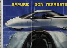 Z2 Ritaglio Clipping 1988 Quattroruote Pontiac Pursuit Oldsmobile Aerotech USA