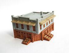 Outland Models Train Railroad City Grocery Store / Shop (Corner) N Scale 1:160