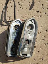 Jaguar XJS XJ6 PAIR Corner Park Light Turn Signal Side Marker Fender Mounted