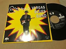 "VARGAS BLUES BAND - MADRID MEMPHIS 7"" SINGLE SAME SIDED PROMO - BLUES ROCK"