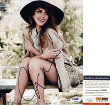 JESSICA ALBA SIGNED 8X10 PHOTO *PSA COA* AUTHENTIC AUTOGRAPH