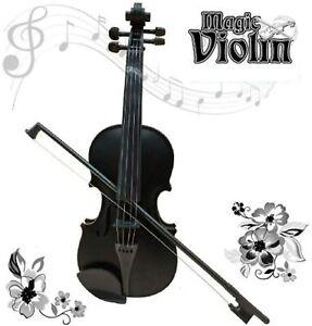 Kids Violin Children Musical Guitar Toy Kids Play Black Violin With Music UK