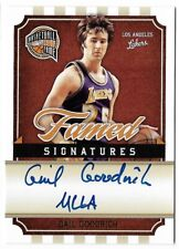 "GAIL GOODRICH 2010 PANINI HALL OF FAME ""UCLA"" AUTO AUTOGRAPH CARD #13/499!"