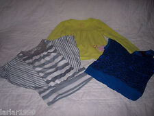 GIRLS LOT OF 3 TOPS~1 NEW, 2 PREOWNED~LIPGLOSS, CARTERS & SELF ESTEEN SIZES 4-5