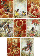 Fairy Bubbles Glossy Finish Card Making Toppers - Crafts Embellishment