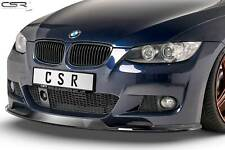 Cup Spoiler Front Ansatz Lippe Schwert für BMW 3er E92/E93 M-Paket Hochglanz