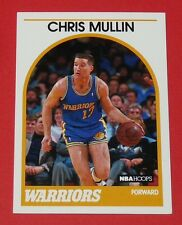 # 90 CHRIS MULLIN GOLDEN STATE WARRIORS 1989 NBA HOOPS BASKETBALL CARD
