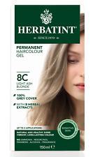 HERBATINT HERBAL NATURAL HAIR DYE  8C Light Ash Blonde 150 ml - AMMONIA FREE